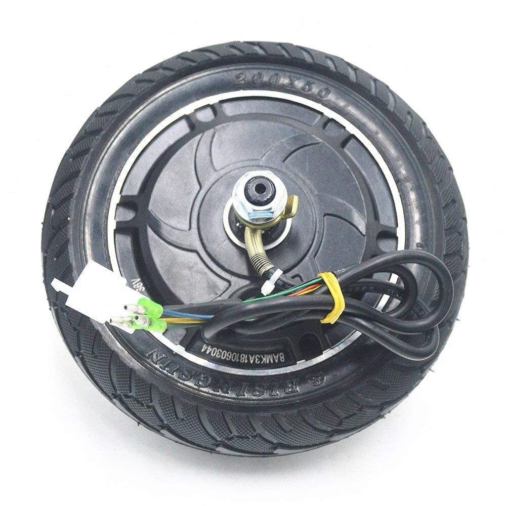 Elektrische Roller Hub Rad Motor 24V 36V 48V 350W DC Bürstenlosen Zahnlos Rad Motor Roller Rad fahrrad Bike Motor