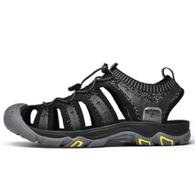 2019 Mens Sport Summer Outdoor Hiking Trekking Sandals Barefoot Shoes Sneakers For Men Aqua Fishing Beach Sea