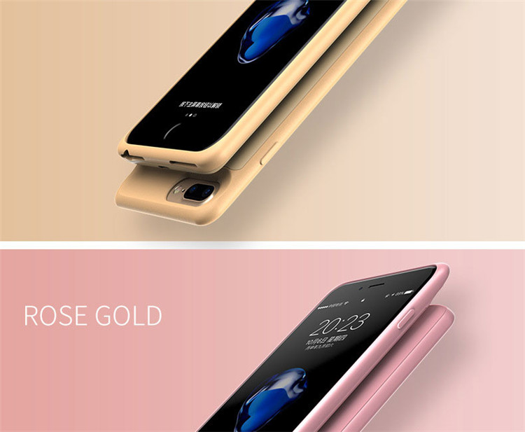 Phone - Battery Case For iphone 6 6s 7 8 2500/3700/5000/7000mah Power Bank Charing Case For iphone