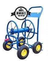 Мобильный тяжелых Reel корзину для 80 160 м сад водяной шланг синий цвет (шланг исключены)