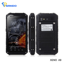 Original A9 Plus IP68 A8 V9 Waterproof Shockproof Rugged Phone MTK6582 Quad Core Android 4.4 1GB 8GB 3G GPS 8.0MP Mobile Phone