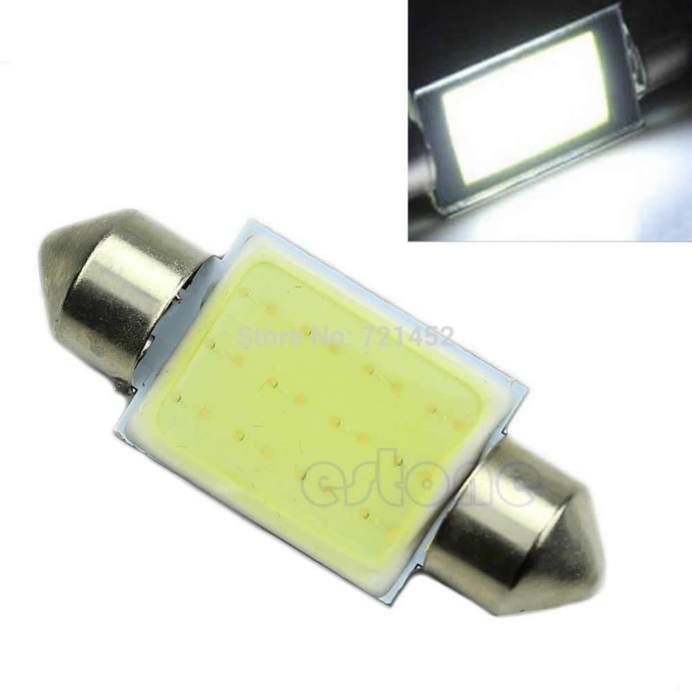 5pcs/lot Bright White Festoon CAN BUS 36mm C5W PLASMA COB LED SIZE Interior SMD Bulb 98% new for smd package rjp63k2 lcd plasma dedicated 100pcs lot