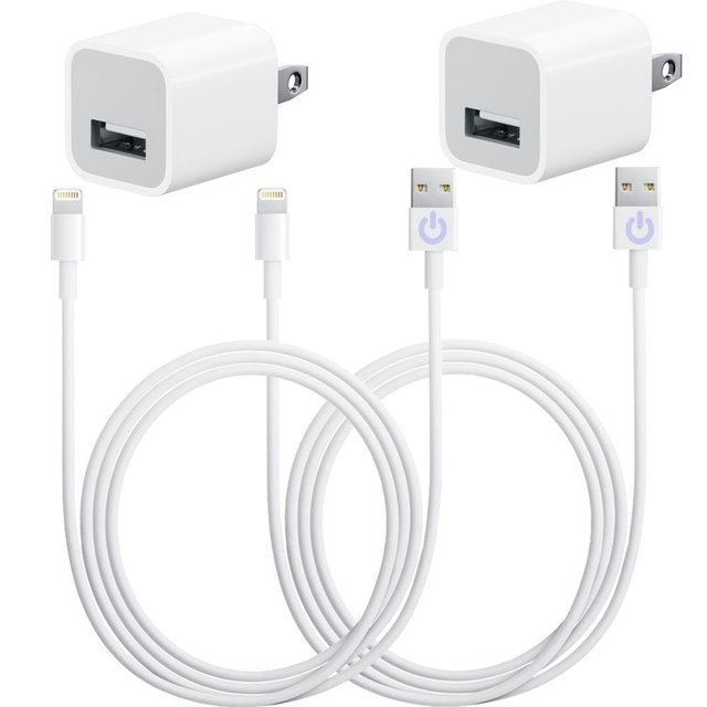 Free Shipment(2packs) 3 Feet Data Transfer Sync 8 Pin USB Cables &Wall Plugs for IPhone6/6s 6/6S plus for IPad,for Ipod IOS 8 9