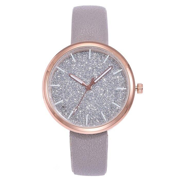 New Arriveshi Simple Fashion Women's Watch Sparkling Women's Watch Relogio Feminino Montre Femme Horloge Zegarek Damski