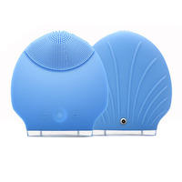 5 Colors USB Electric Face Cleanser Brush Body Vibrating Face Massager Waterproof Charging Beauty Bar Facial