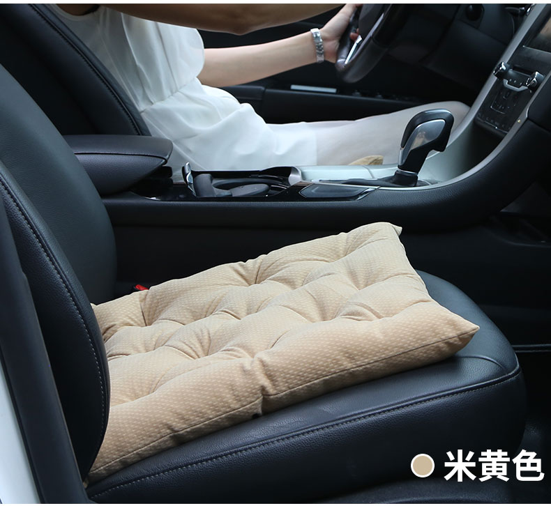 12v carbon fiber heating Car seat covers, winter car seat cushion, heated blending monolithic keep warm seat cushion