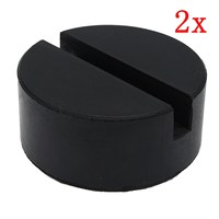 Useful Car Rubber Jack Pad Frame Protector Adapter For Pinch Weld Side Lifting Disk