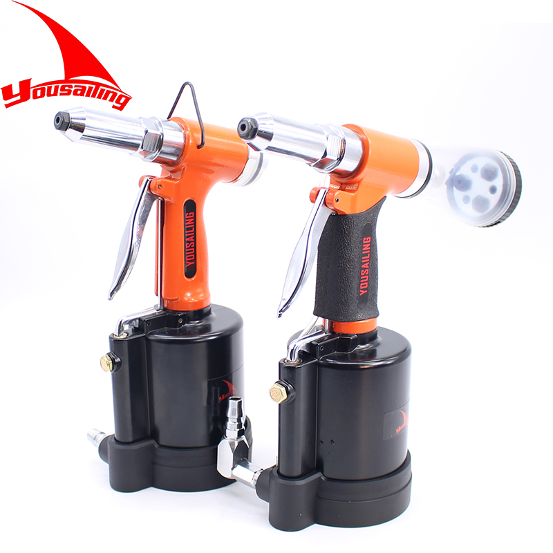 цена на YOUSAILING New Arrival Industrial 3.2-6.4MM Pneumatic Blind Riveter Air Hydraulic Rivets Nail Gun Air Riveting Tools