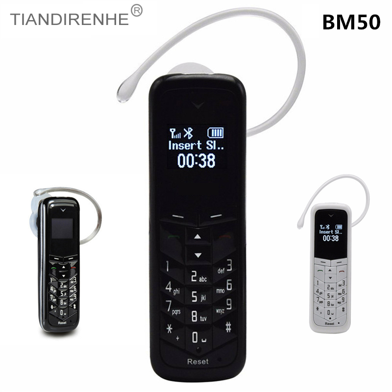 Wireless Bluetooth Headset Dialer GTSTAR BM50 Stereo Mini Headphone Pocket Phone Support Sim Card And Call
