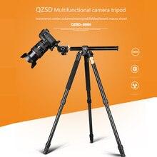 Trípode de cámara profesional Q999H, trípode de aluminio multifuncional portátil de 61 pulgadas para cámaras DSLR Canon Nikon Sony SLR
