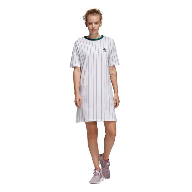 Original New Arrival Adidas Originals TEE DRESS Women's Dress Sportswear