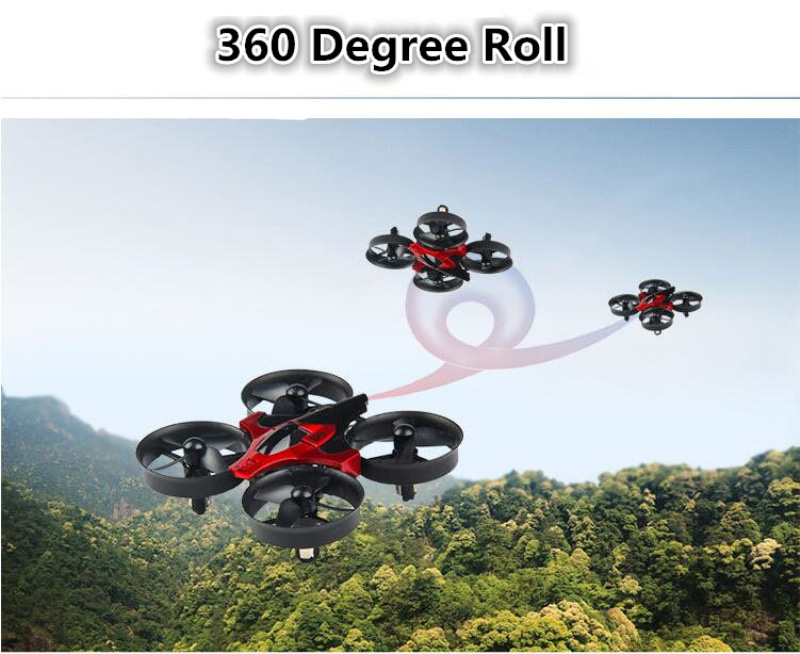 Global Drone Quadrocopter Micro Drone 6 Axis Gyro 4CH RC Helicopter Headless Mode Pocket Dron Toys For Boys Mini Drone (2)