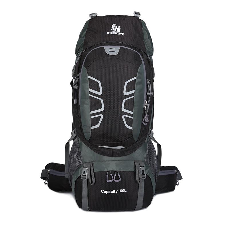 Travel Climbing Backpacks Men Travel Bags Waterproof 60L Hiking Backpacks Outdoor Camping Backpack Sport Bag Men