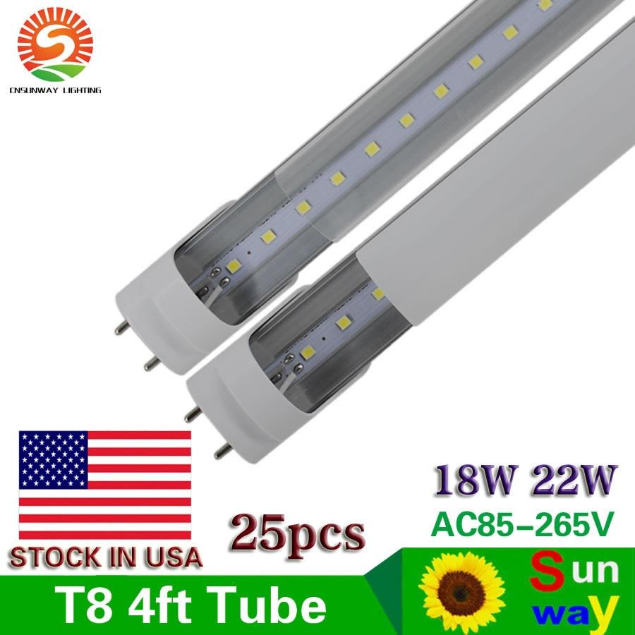 Aliexpress.com : Buy 25 Pack Of 4ft 18W T8 T12 LED Tube