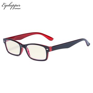 Image 3 - CG055 SpringHinges UV Protection, Anti Glare Anti Blue Rays,Scratch Resistant Lens Yellow Tinted Lenses Computer Reading Glasses