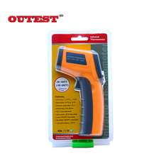 Top Quality Non contact Digital Laser infrared thermometer GS320  50~360C ( 58~680F) Themperature Pyrometer IR Laser Point Gun