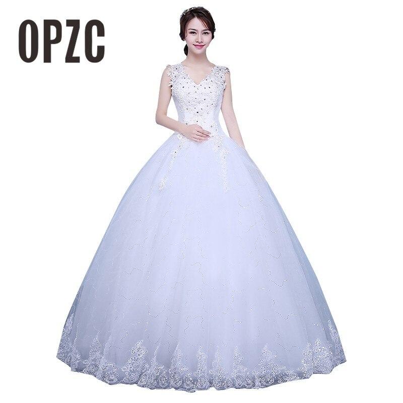Customized Simple Fashion Wedding Dress 2017 New Arrival