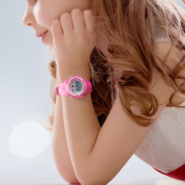 SKMEI Children Watch Boys Waterproof LED Digital Sports Watch Kids Alarm Date Watch for Children Girl Gift Reloj Deportivo