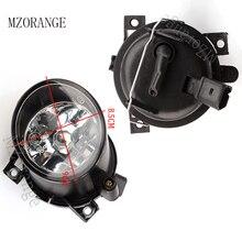 цена на MZORANGE 12V 55W Fog Lights Assembly Halogen for Volkswagen POLO 9N/MK4 2001 2002 2003 2004 2005 Fog Lamps Driving Fog Lamp H3