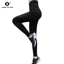 Sexy Yoga Fitness Sports Stretch Leggings Women Tight Pants High Waist Gym Shark Seamless Training Jogging Track Pant