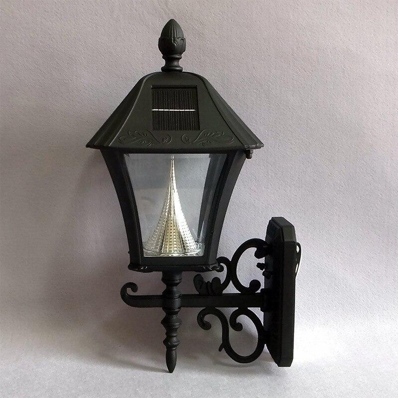lamparas exterior luces solares jardin iluminacion led solar al aire libre luces de navidad pilar lampe