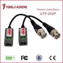 Twisted Video Balun Passive Transceivers CCTV DVR camera BNC Cat5 UTP Security Video Balun surveillance Transmitter 10PCS