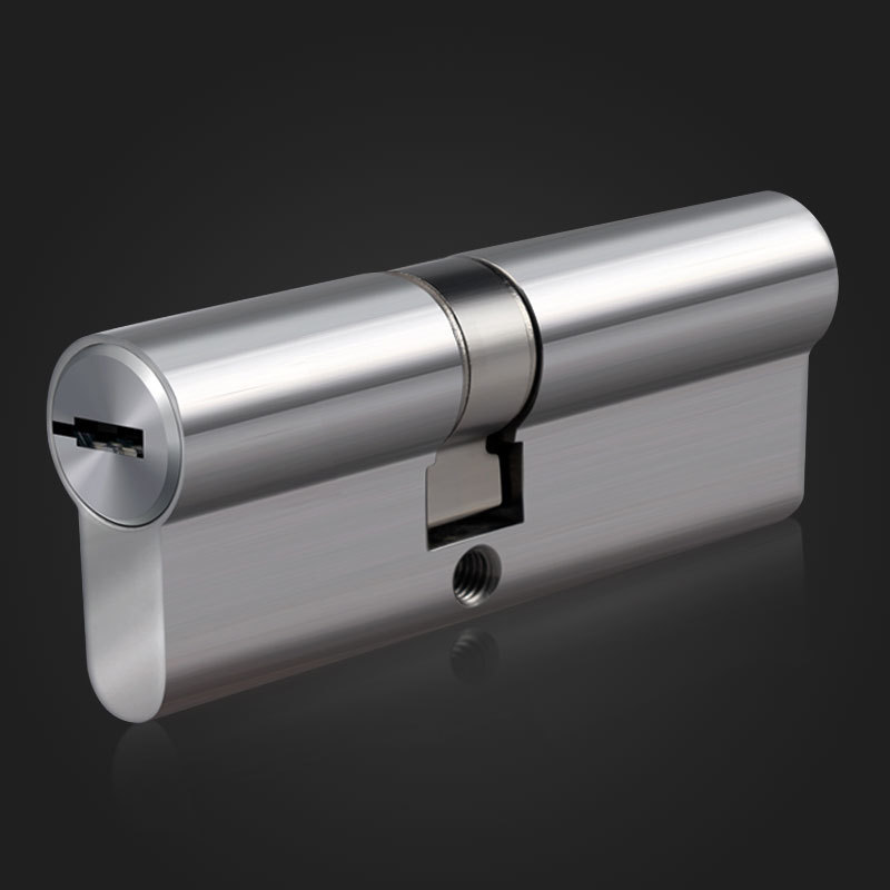 75mm Super C Grade stainless steel Anti-theft door Lock Core Security Lock Core Cylinders Key Door Cylinder Lock 8 keys super c grade blade lock core 5 thickness keys class c lock cylinder length adjustable modular copper anti theft locks core
