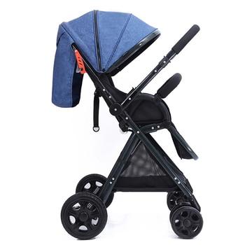 Dječja kolica 2 u 1 lagana dječja kolica za bebe,sklopiva dječja kolica!! BESPLATNA DOSTAVA!! 1