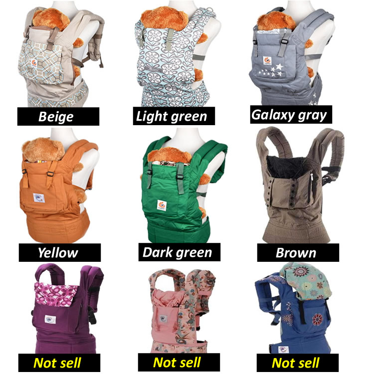 ergonomic baby carrier sling baby backpack carrier and baby suspenders