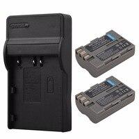2x 2200mAh EN EL3E ENEL3E Battery USB Charger For Nikon D90 D80 D300 D300s D700 D200