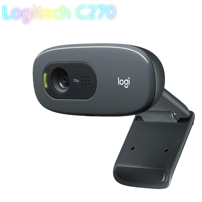 Caritativo Original Logitech C270 Hd Cámara Normal Integrada Microphone Usb2.0 720 Píxeles Mini Cámara Normal Invertida Pc Ordinary Portabl