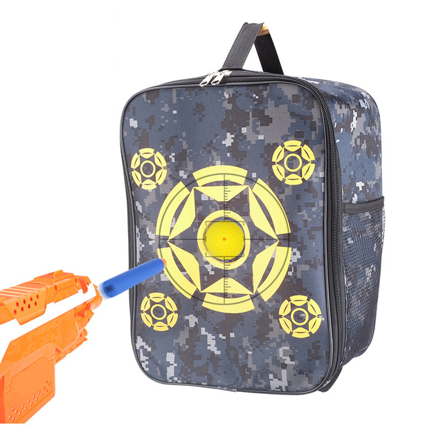 Hot Sale Target Pouch Storage Carry Equipment Bag For Nerf Bullet  Elite Mega Rival Darts Bullet Storage Compact Bag Boys Toy cca5fb34f2a2