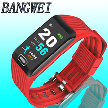 2019 BANGWEI New Smart Watch Men Women Fitness Tracker Heart Rate Blood Pressure Monitor Smartwatch Sport for ios android