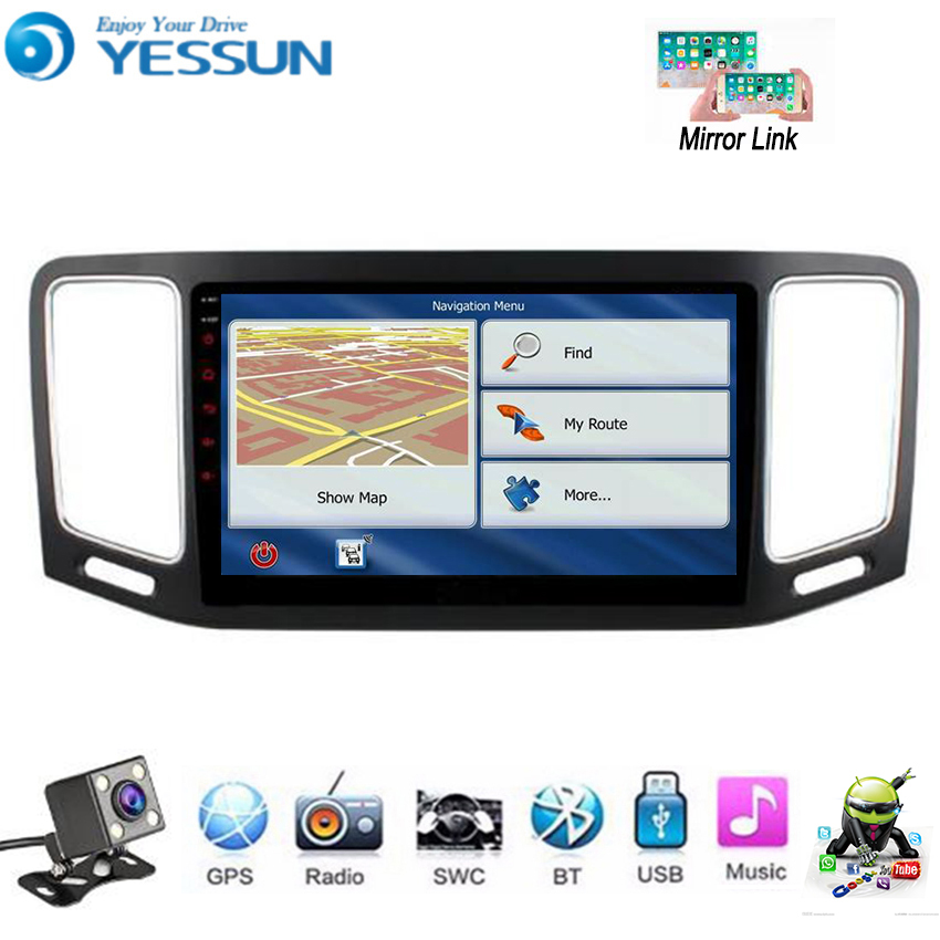 YESSUN For Volkswagen Sharan For SEAT Alhambra 2012~2018 Car Android Multimedia Player Car Radio GPS Navigation Big Screen