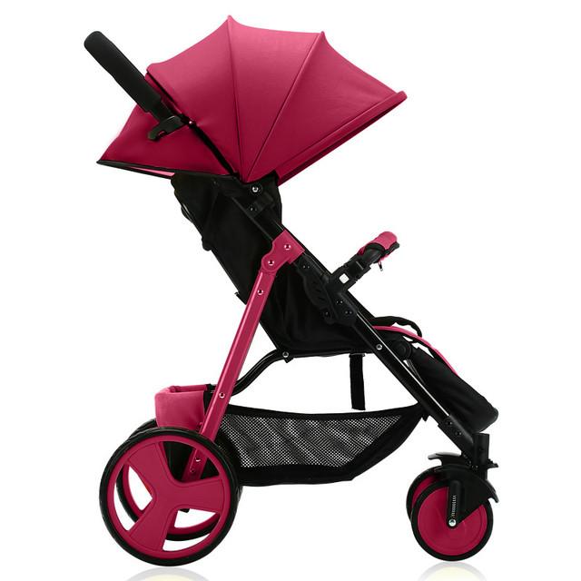 Novo Design Carrinho de Bebê de Carro Do Bebê Portátil Dobrável Grande Sombrinha Capa Absorção de Choque Carrinhos E Carrinhos Para Bebês C01