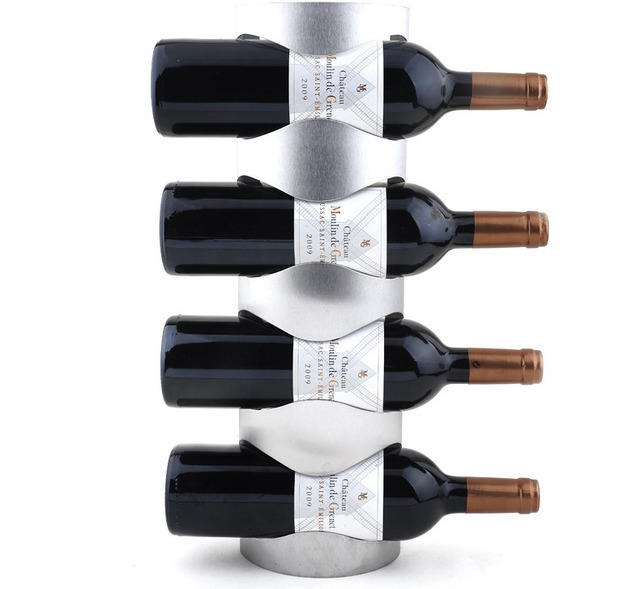 Creative Wine Rack Holders Home Bar Wall Grape Wine Bottle