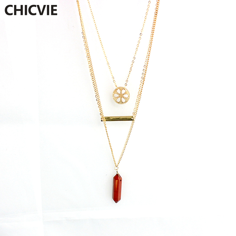 Купить chicvie 2016 женское модное ожерелье с воротником для девочек