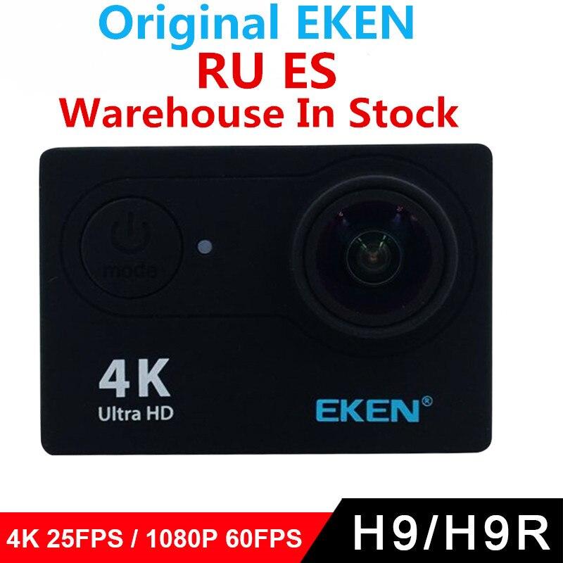 Оригинал Экен H9/H9R экшн камеры 4 К Wi Fi Ultra HD 1080 P/60fps 720 P/120FPS Go Водонепроницаемый мини Cam Pro велосипед видео камера спорта|action camera 4k|camera 4kcamera 4k wifi | АлиЭкспресс
