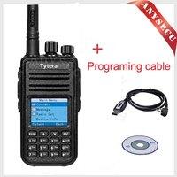 free shipping 2015 (+ Programming Cable)  good design DMR digital TYT md-380 uhf radio 400-480MHz radios handheld Transceiver