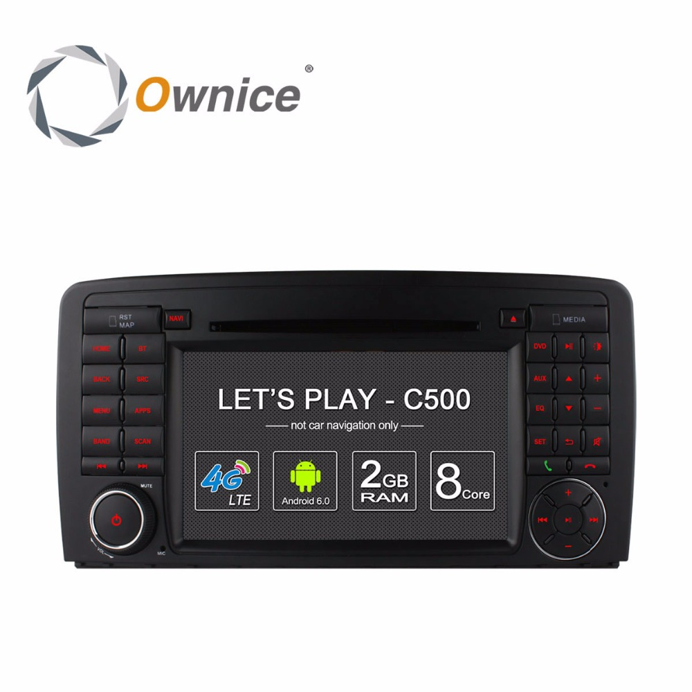 Ownice GPS Navigator DVD font b Multimedia b font Player for Mercedes Benz R W251 R280