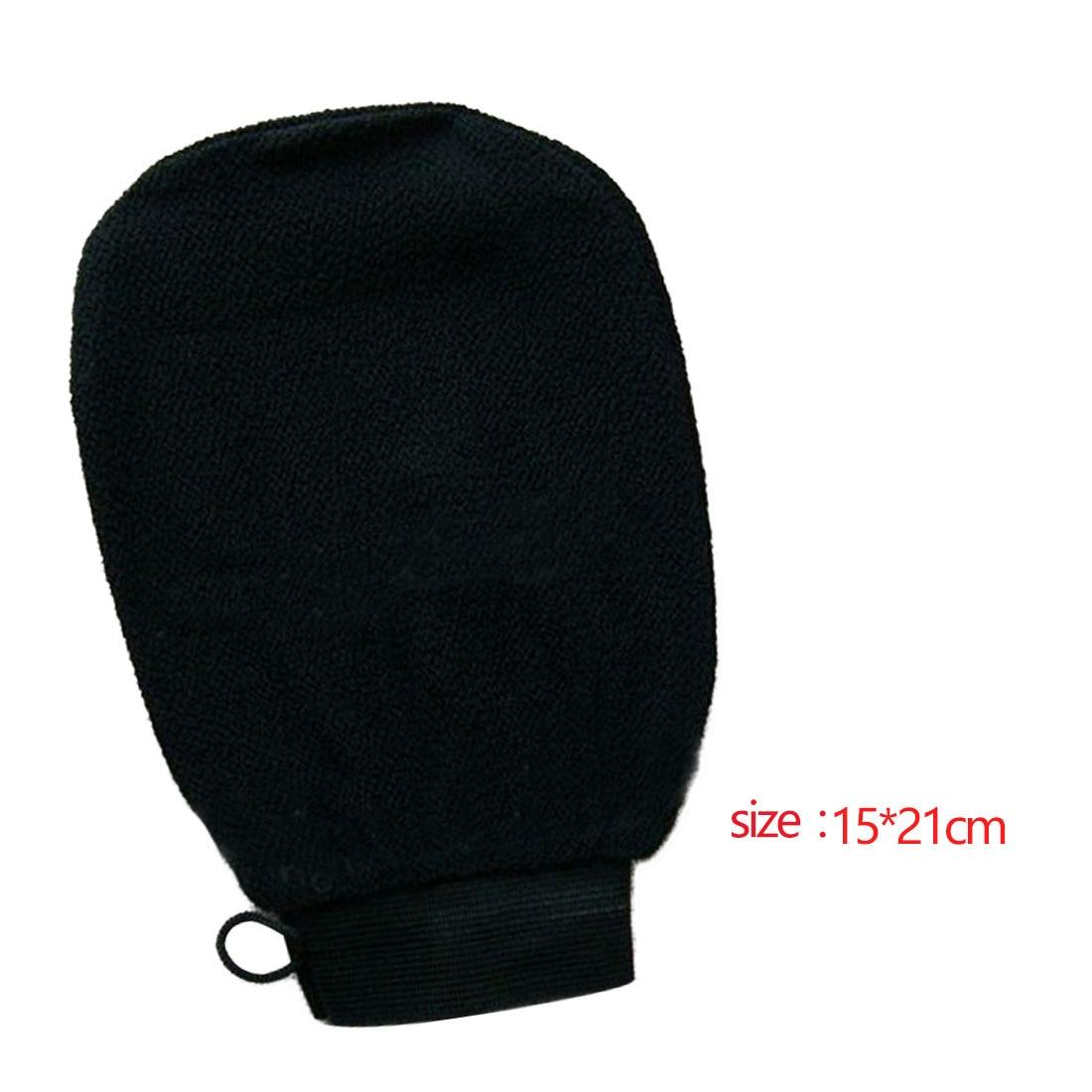 Good Quality 1 PC Magic Black Exfoliator Bath Glove Body Cleaning Scrub Mitt Rub Dead Skin Removal Shower Spa Massage
