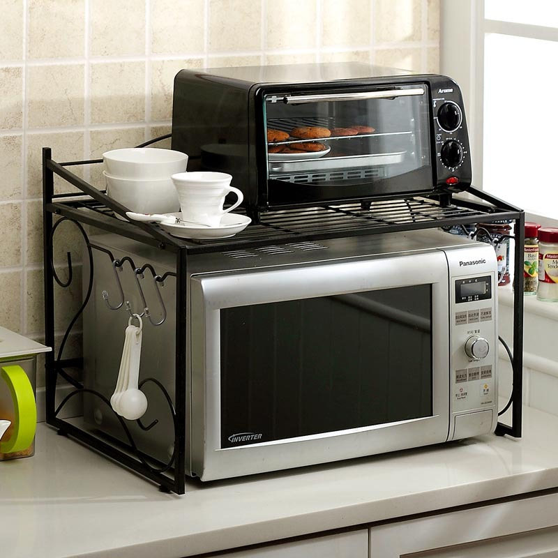 Double Microwave Stand Bestmicrowave
