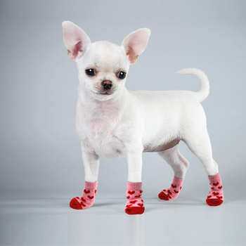 Winter Pet Dog Shoes Anti-Slip Knit Socks Dog Shoes