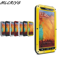 Beschermende Aluminium Gorilla Glass Metal Gsm Beschermhoes Voor Samsung Galaxy S6/S7/S8/Note5 Rand schokbestendig Waterdicht Case