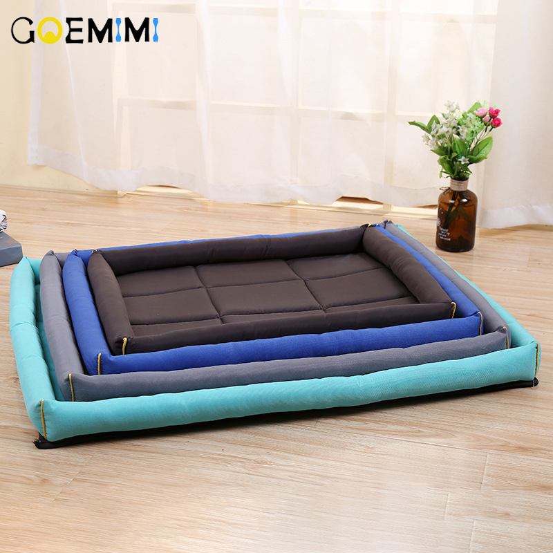 New Arrival Pet Dog Mat Bed Solid Color Waterproof Floor Bed For Small Large Dogs All Seasons Breathable Dog Cushion BlanketNew Arrival Pet Dog Mat Bed Solid Color Waterproof Floor Bed For Small Large Dogs All Seasons Breathable Dog Cushion Blanket