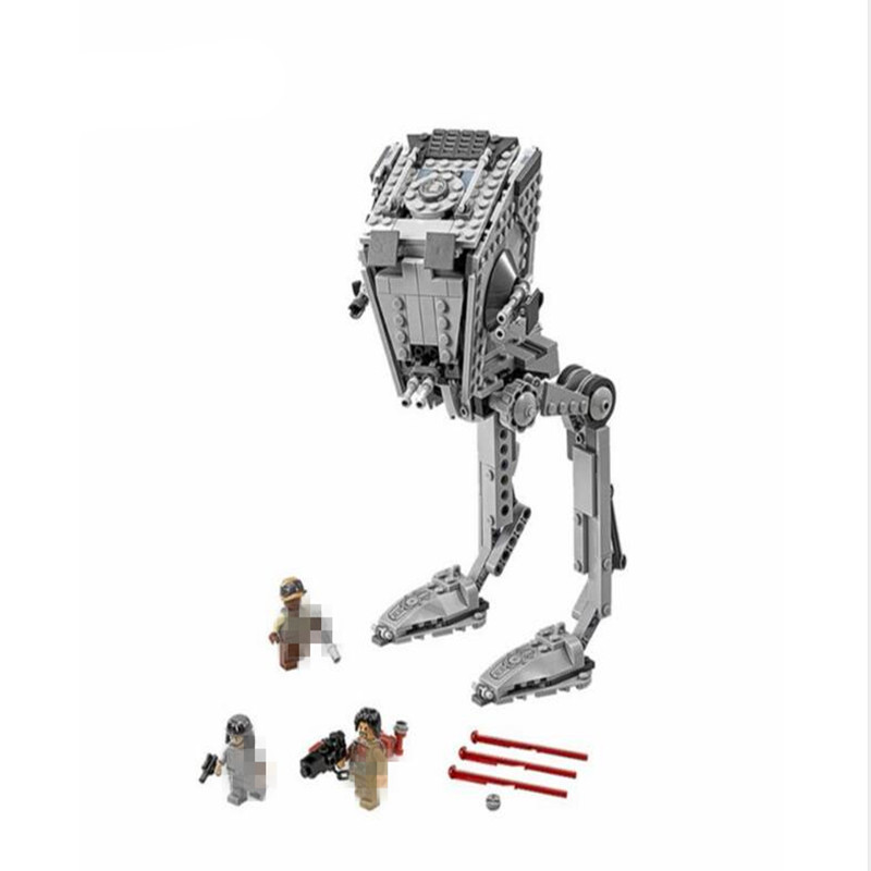 AT-ST 75153 Building Blocks Model Educational Toys For Children Lepin 05052 Compatible Space Wars Bricks Figure Set compatible city lepin 02005 889pcs the volcano exploration base 02005 building blocks policeman educational toys for children