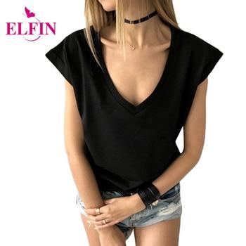 Casual women t shirts short sleeve v neck tee tops t shirt sexy ladies tops plus.jpg 350x350