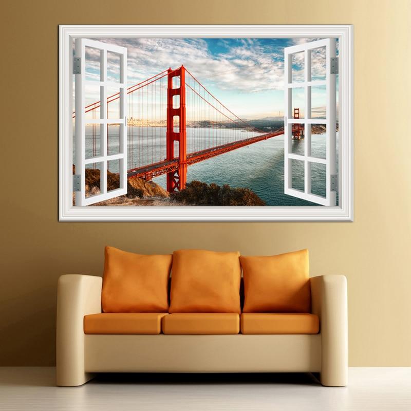 Τρισδιάστατα παράθυρα παραθύρων - Διακόσμηση σπιτιού - Φωτογραφία 1