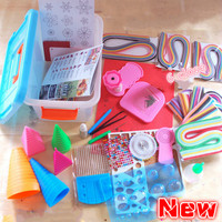 Quilling paper set tools Storage Box Gift ferramenta para quilling DIY Handmade Decoration
