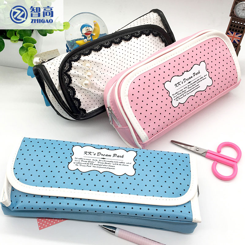 Zhigao pencil case for girls penalties school supplies School cases pencil box roll up pencil bag child creative stationery 220909 school gifts boxes pupil men multifunctional creative disney child pencil box primary school student page 6